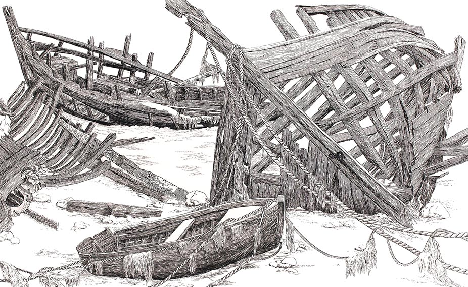 D11 Combien de charpentiers ? © Daniel GIRAULT