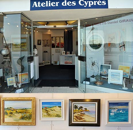 Daniel GIRAULT Galerie Atelier des Cyprès Erquy
