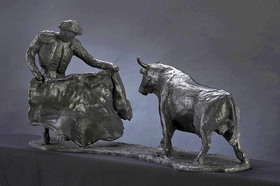 Faëna Bronze 22x43x22 © Daniel GIRAULT